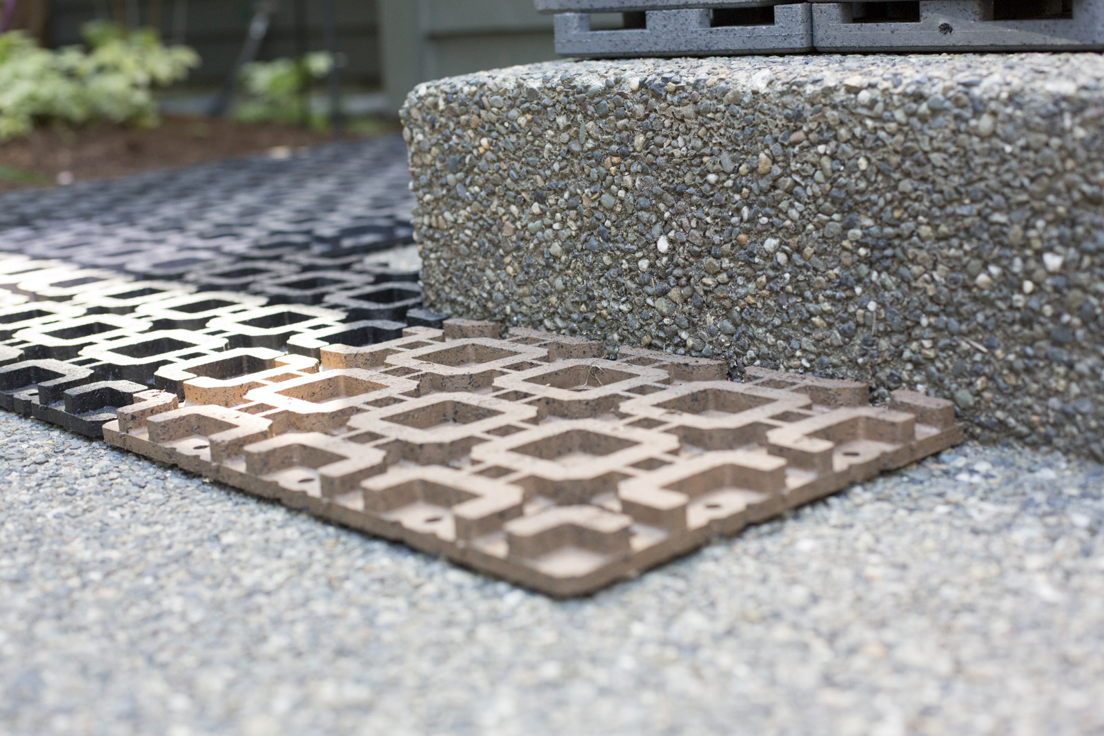 azek paver grid installation