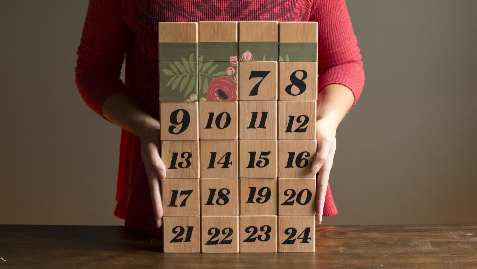 beautiful diy advent calendar