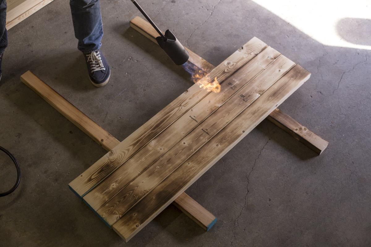 scorching lumber