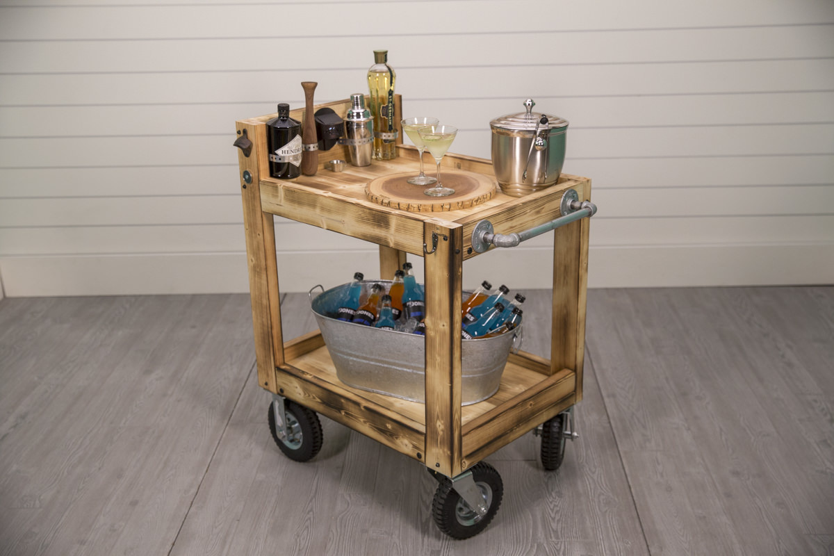 build an all terrain beverage cart at Seattle garden show