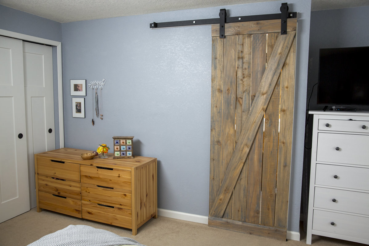 How to Hand a Barn Door | DIY Barn Door | Dunn DIY