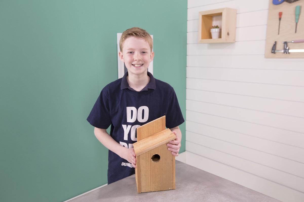 Dunn DIY How to Build an Inexpensive Cedar Birdhouse Seattle WA 7