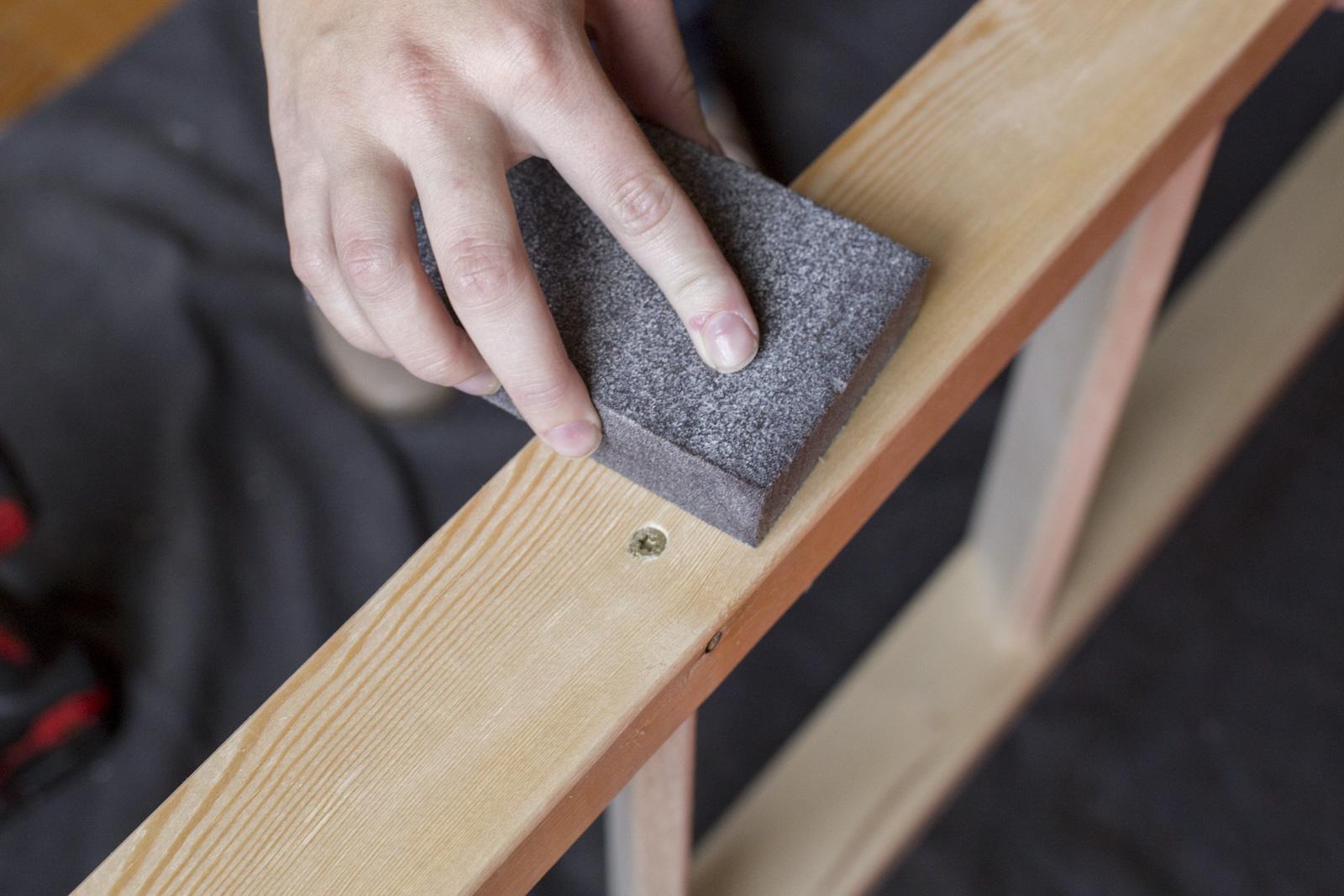 sand quilt rack