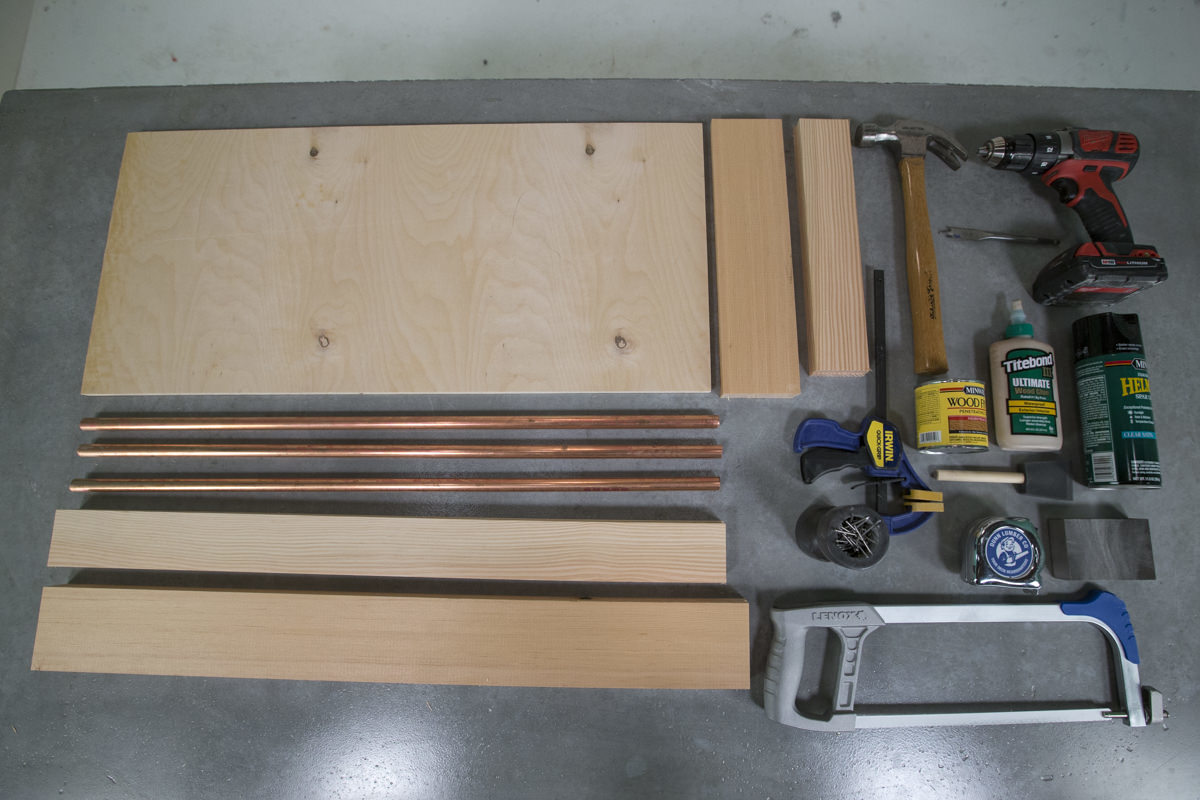Dunn DIY How to Make a Copper Pipe Boot Tray Seattle WA 1