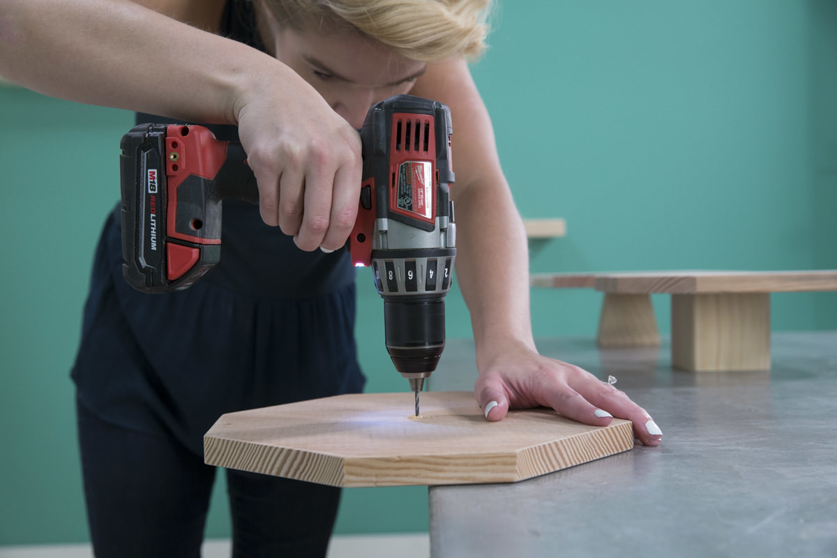Dunn DIY How to Build a Cake Stand Seattle WA 16