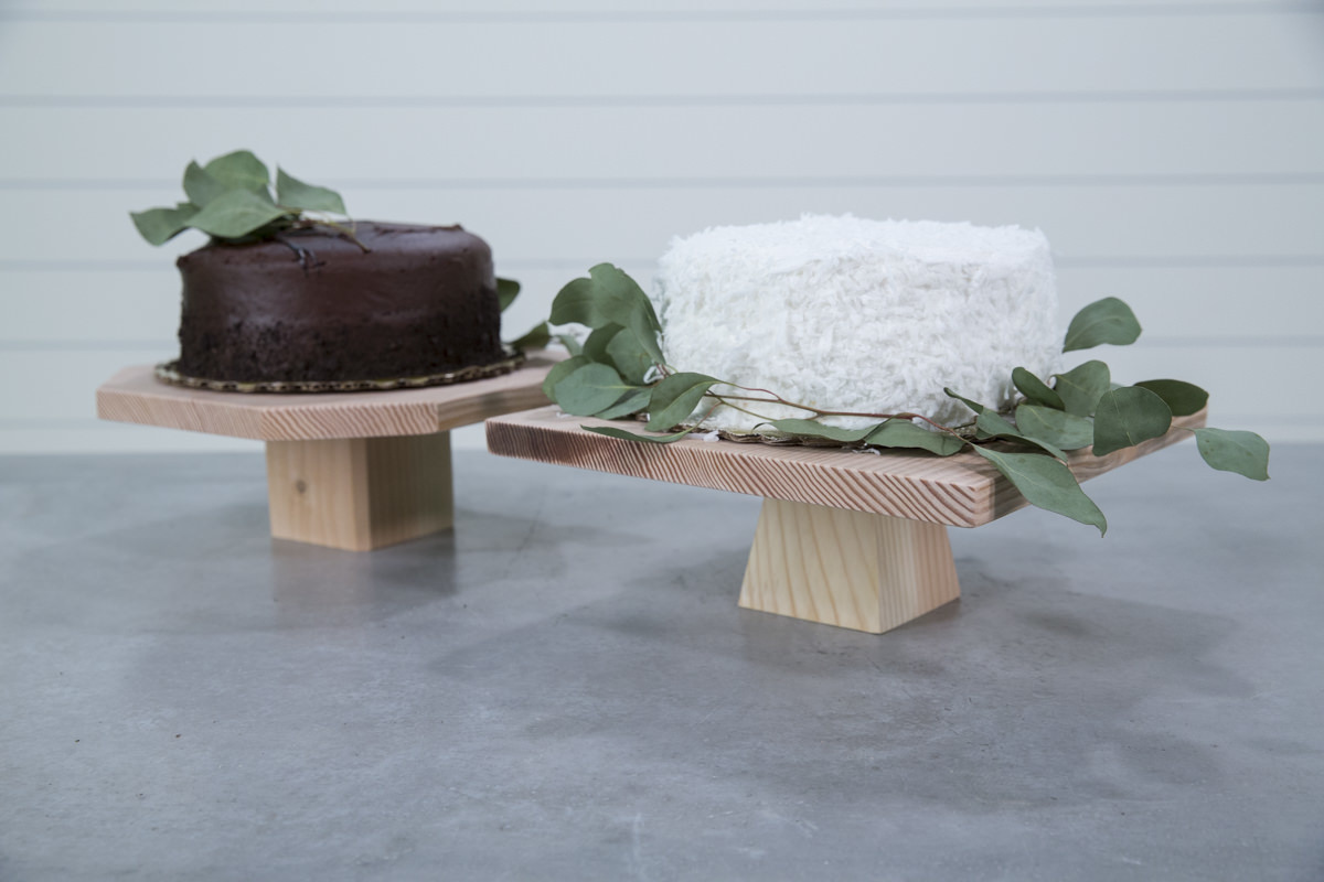 Dunn DIY How to Build a Cake Stand Seattle WA 24