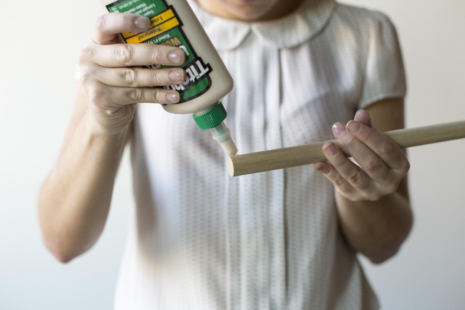 glue dowel