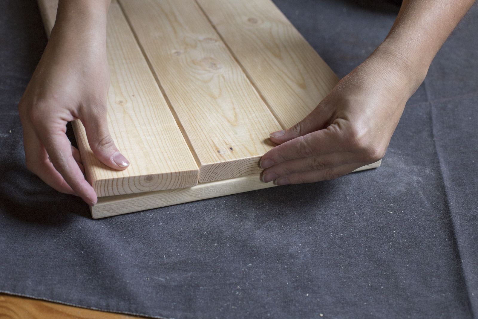 assemble tray