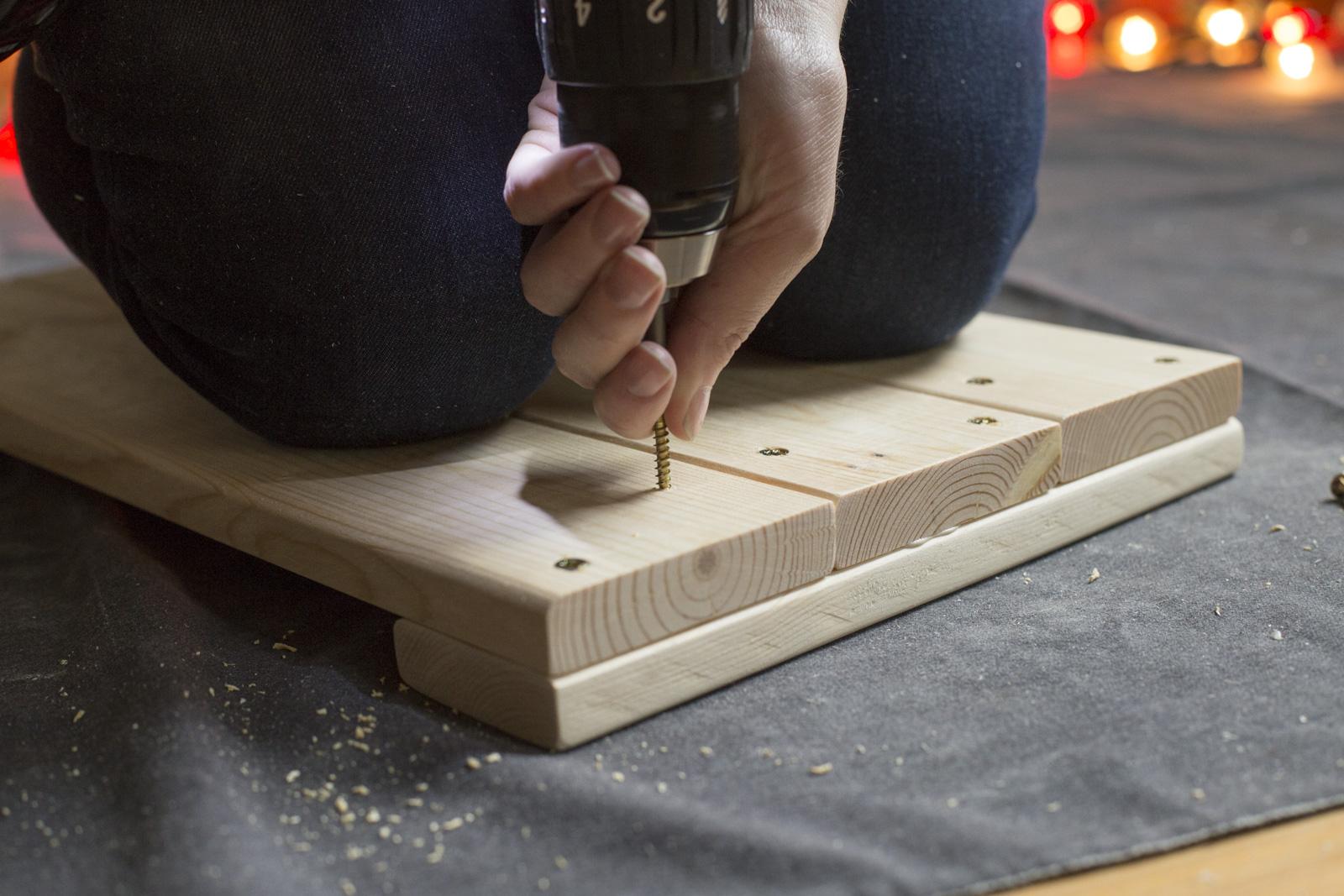 pre-drill wood