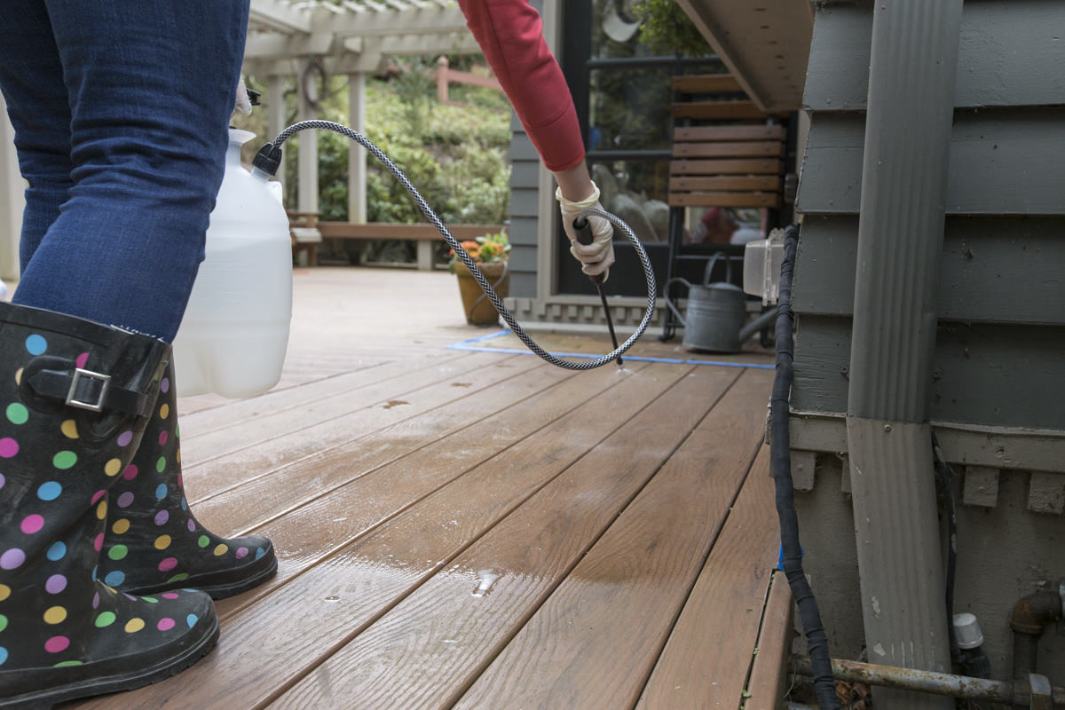 Dunn DIY How to Clean a Composite Deck Seattle WA 10