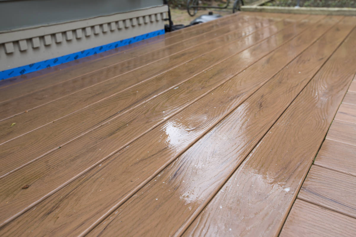 Dunn DIY How to Clean a Composite Deck Seattle WA 11
