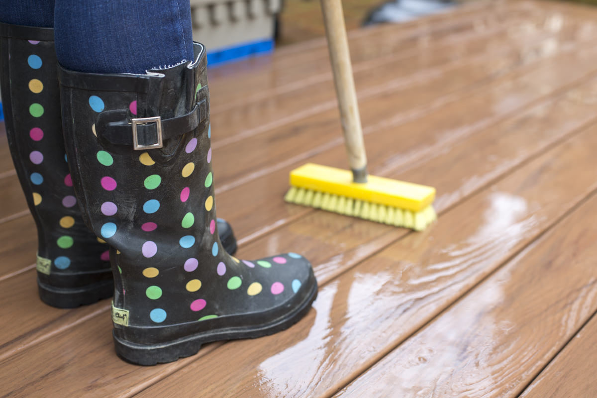 Dunn DIY How to Clean a Composite Deck Seattle WA 14