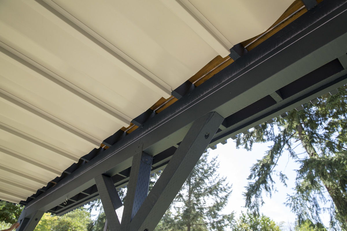 Dunn DIY How to Install a Gutter for a Patio Dry Space Seattle WA 3