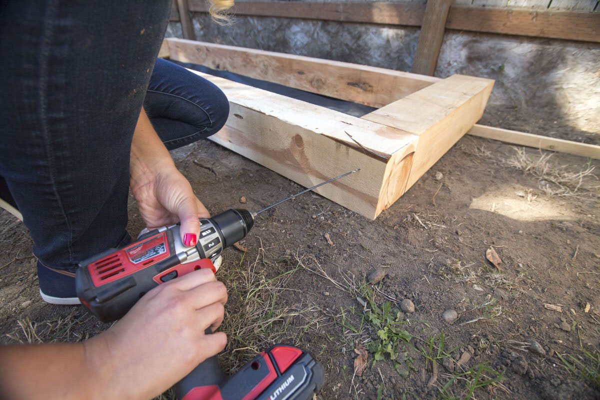 How to Make a DIY Juniper Raised Bed Seattle WA 7