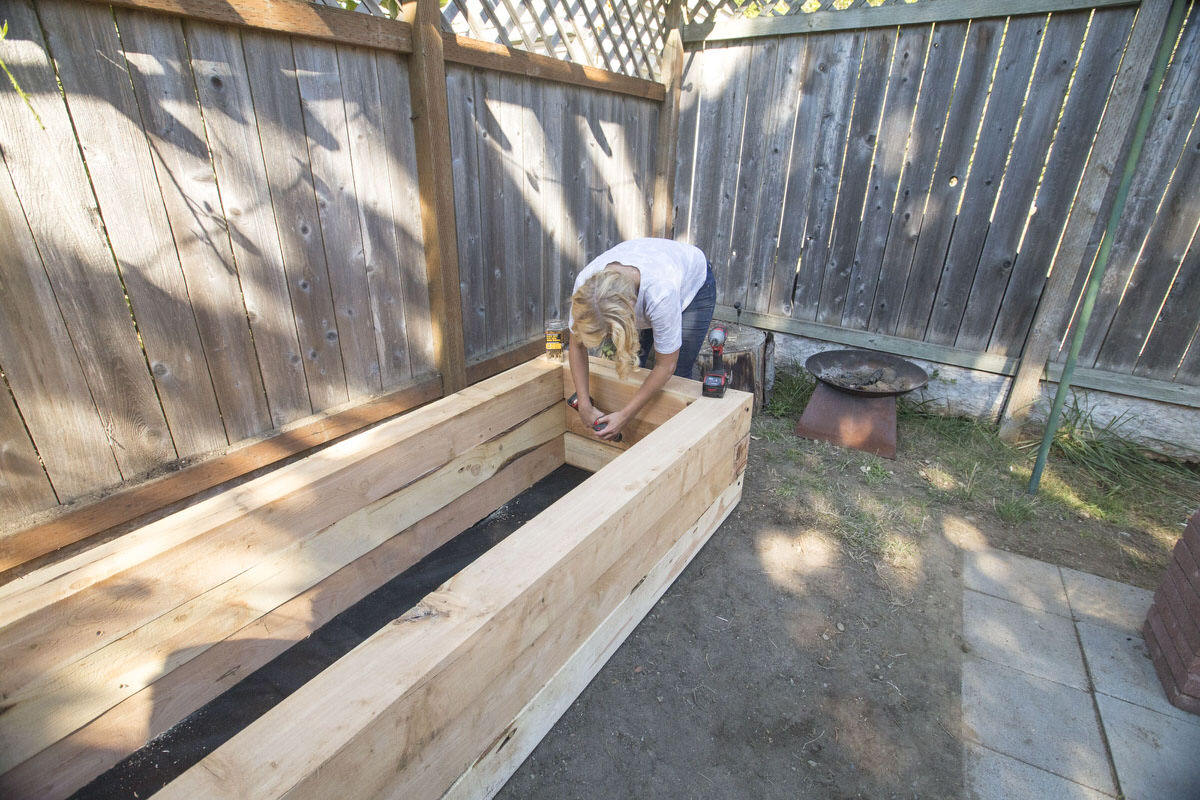 How to Make a DIY Juniper Raised Bed Seattle WA 10