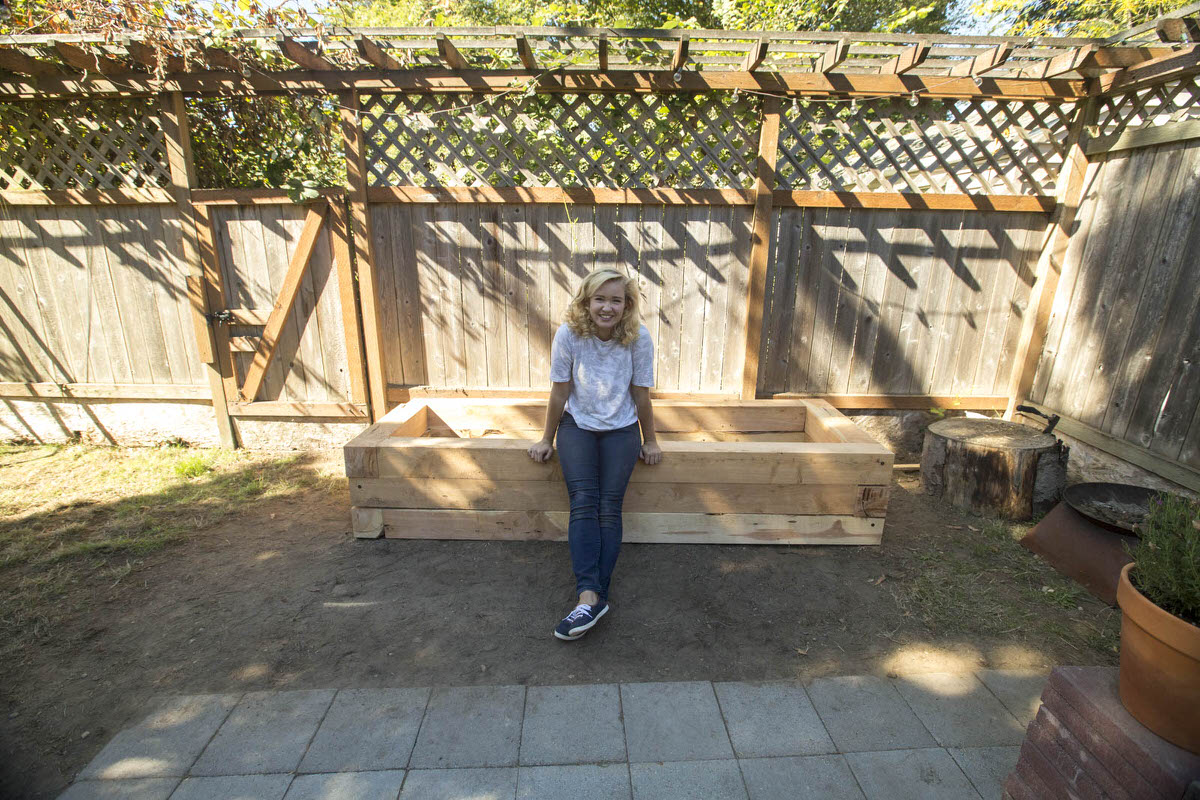 How to Make a DIY Juniper Raised Bed Seattle WA 13