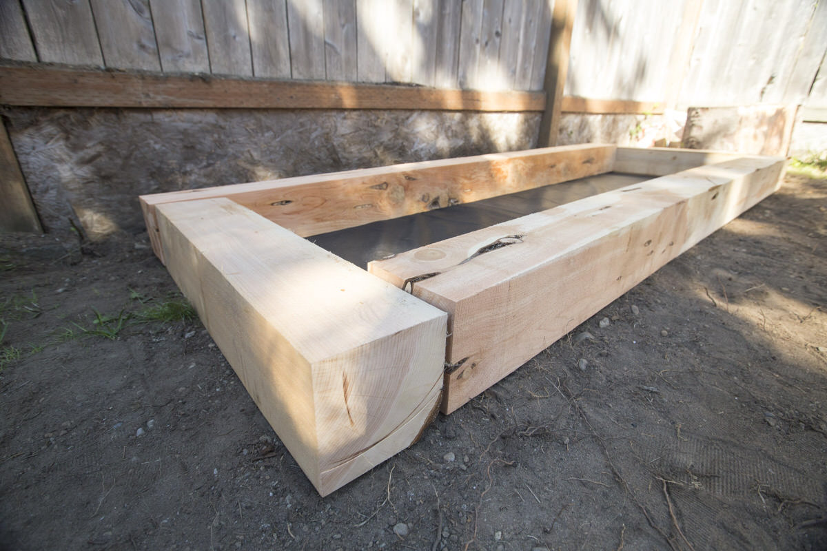 How to Make a DIY Juniper Raised Bed Seattle WA 5