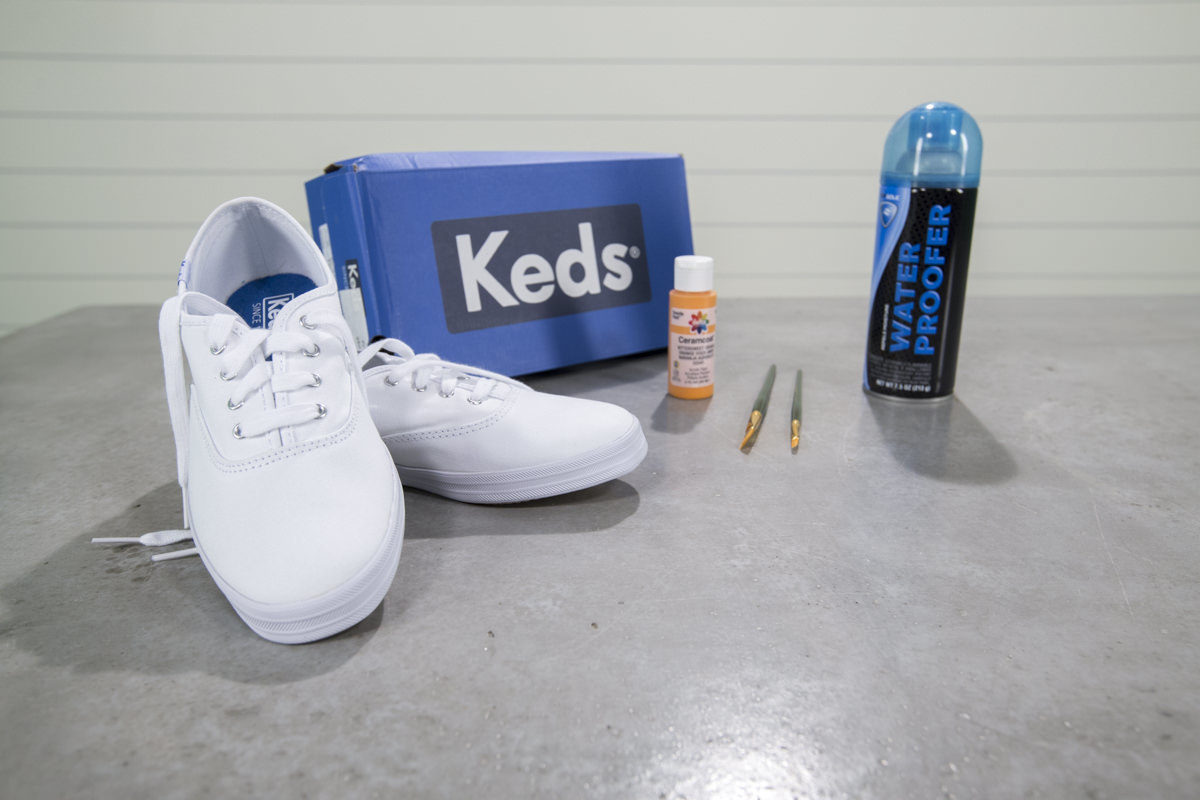 Dunn DIY How to Personalize Your Keds Sneakers Seattle WA 1