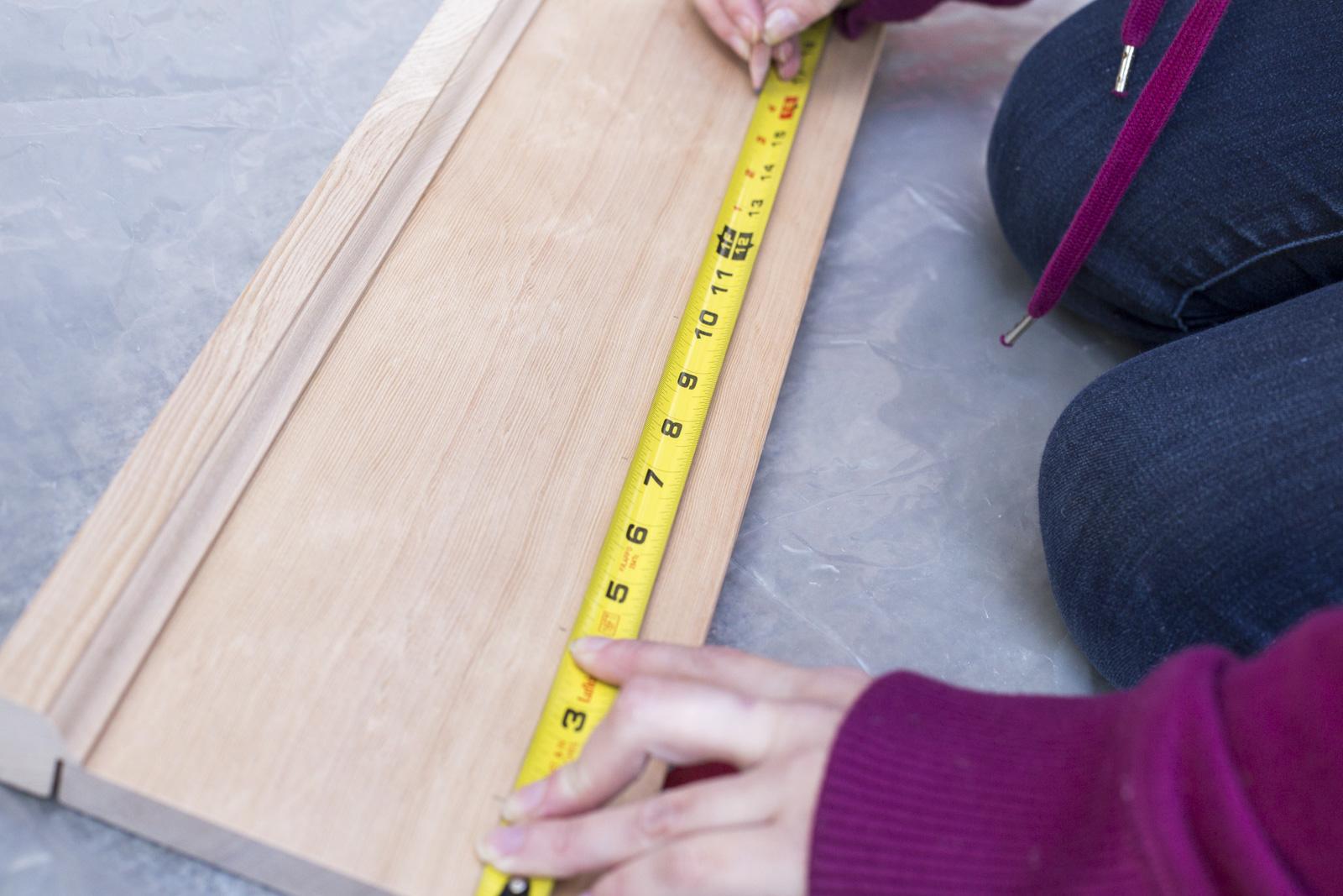 measure kitty coat rack