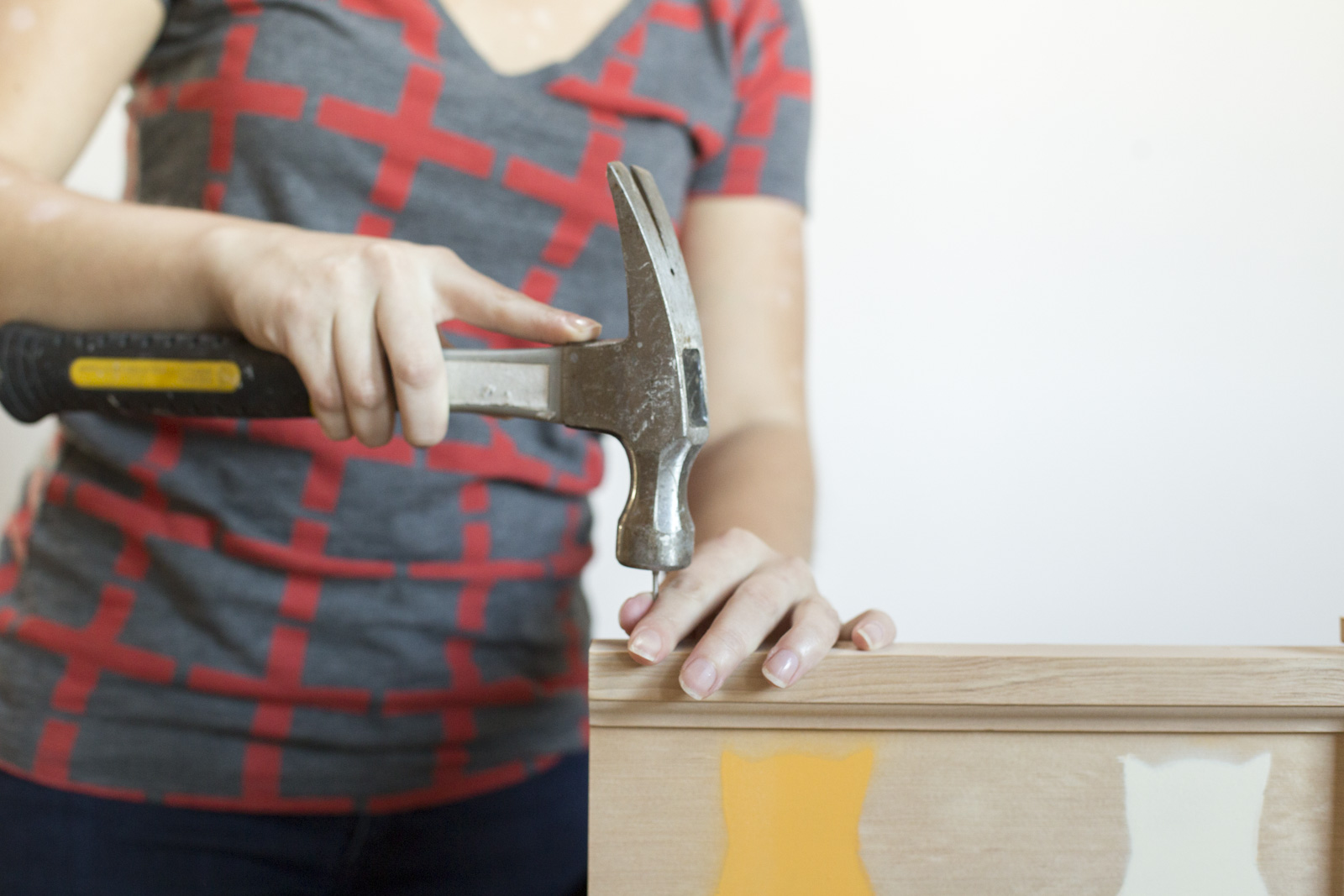 hammering coat rack