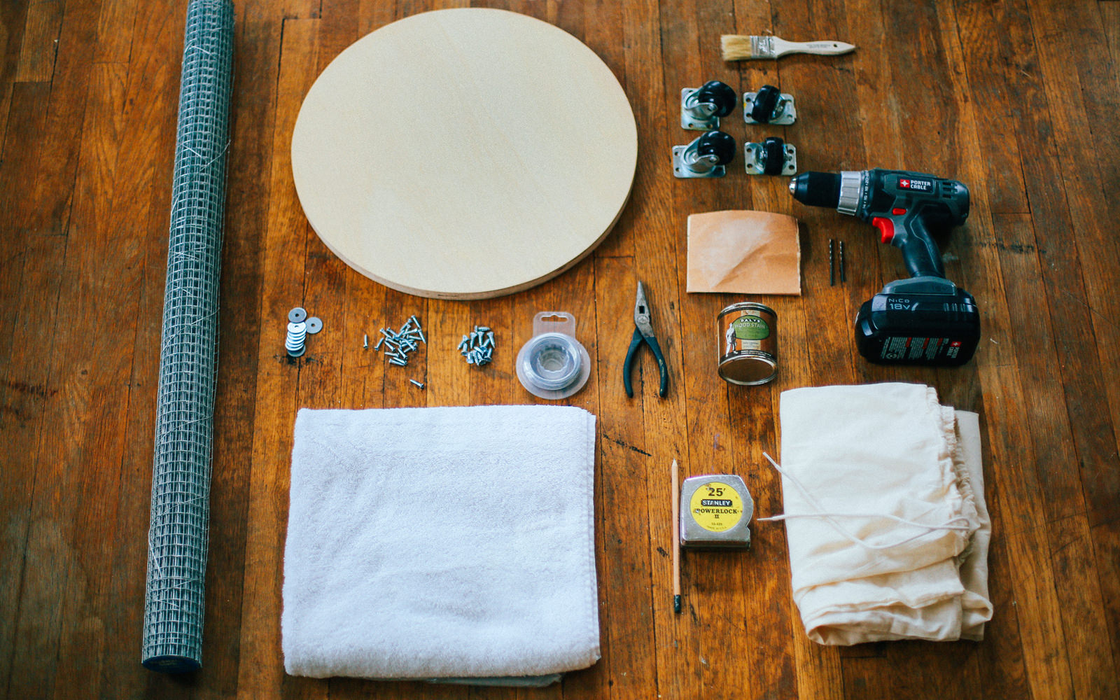 diy laundry basket materials