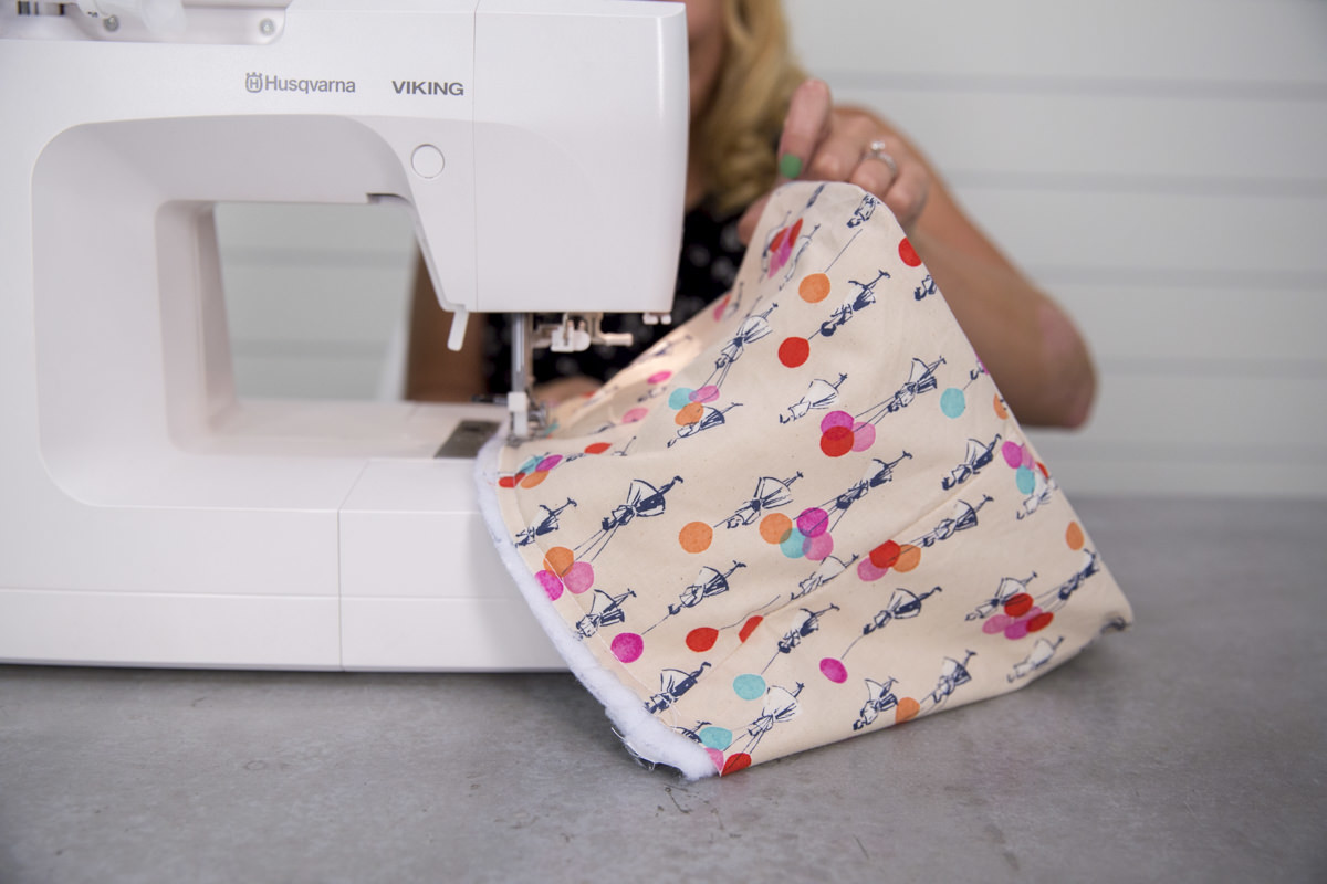sewing cover for diy lunch box