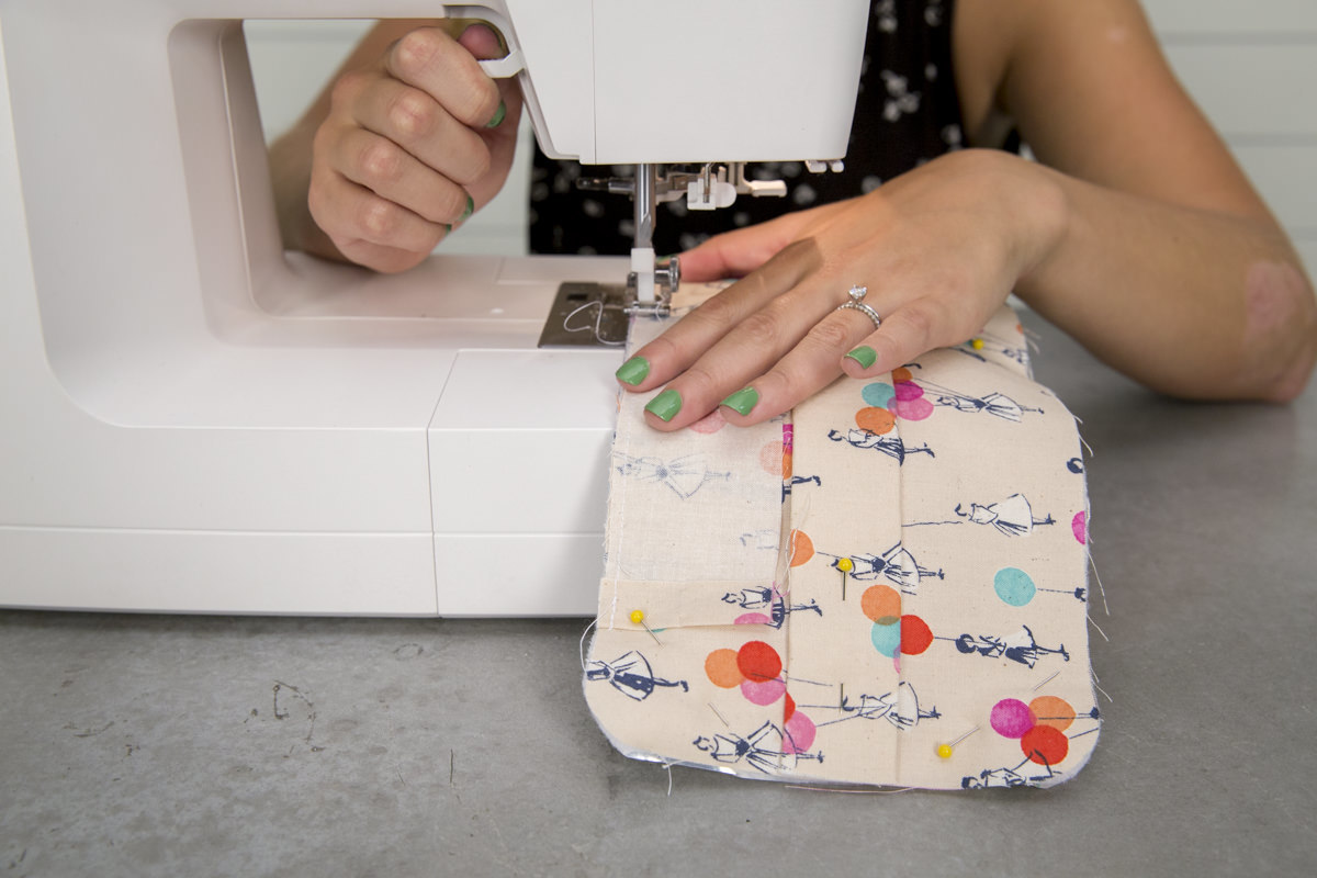sewing flap diy lunch box