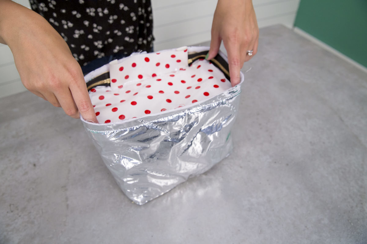 stuffing diy lunch box