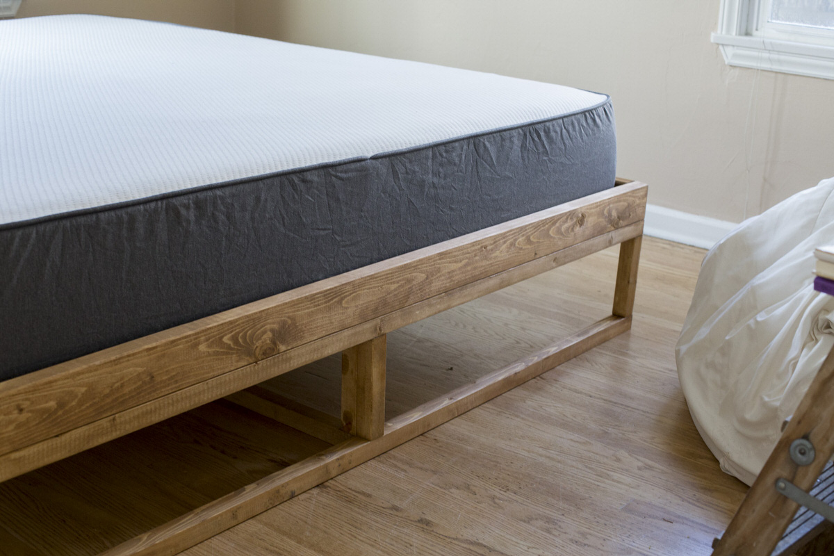 mattress for mid century bed frame