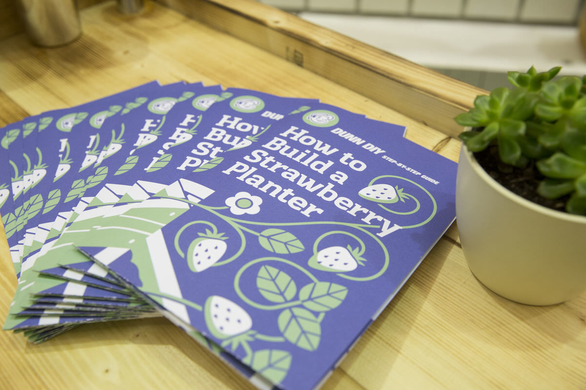how to build a strawberry planter guide