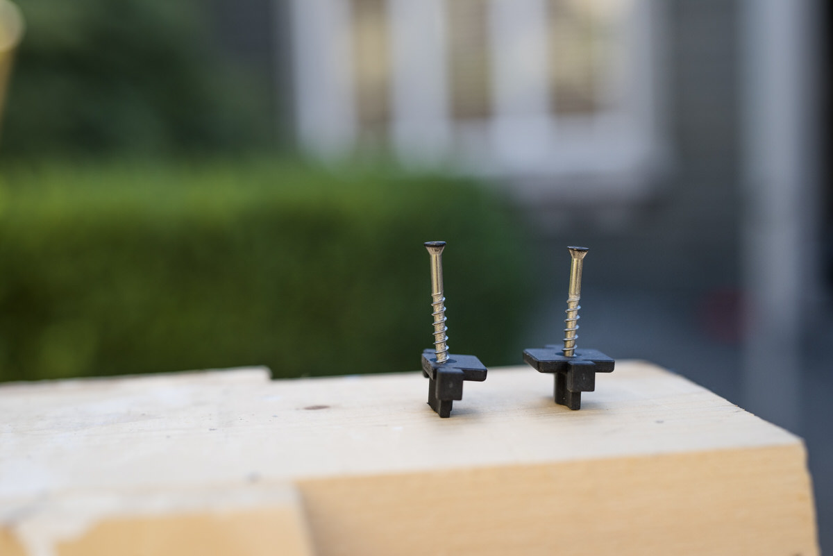 fasteners for diy boardwalk