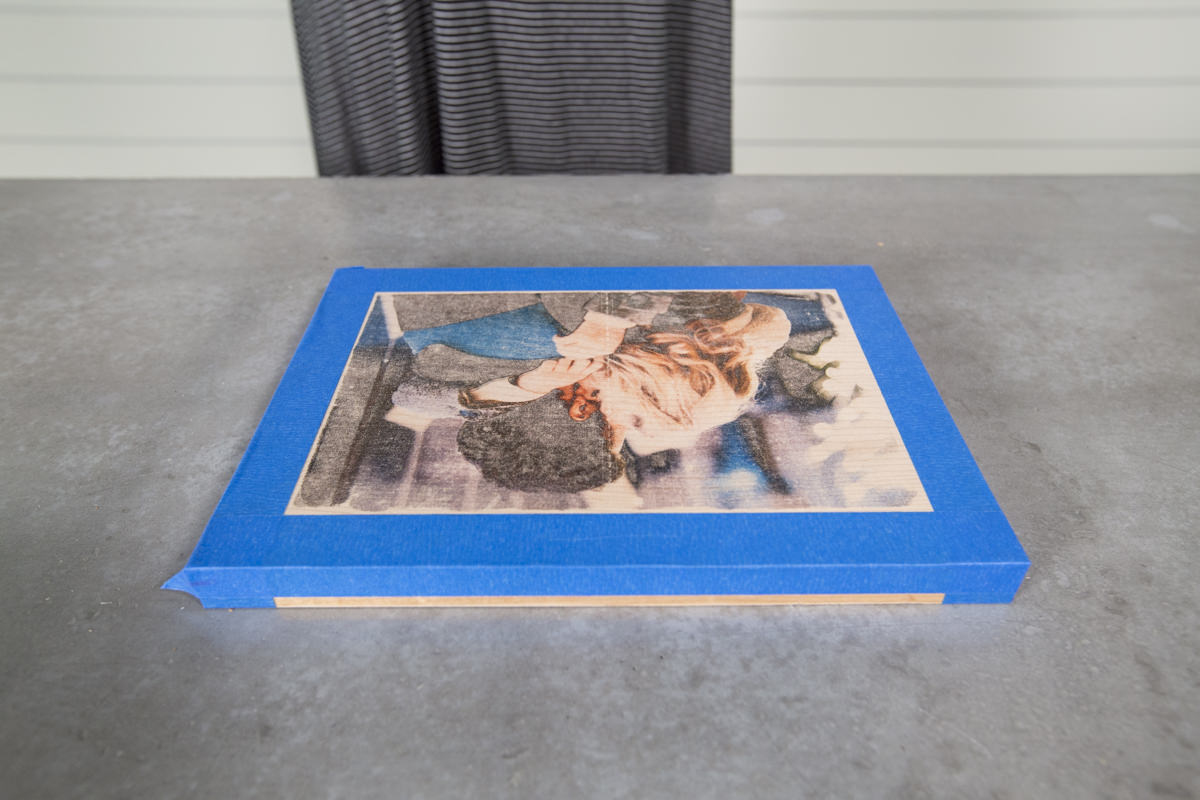 How to Make a DIY Wood Photo Transfer Seattle WA 15