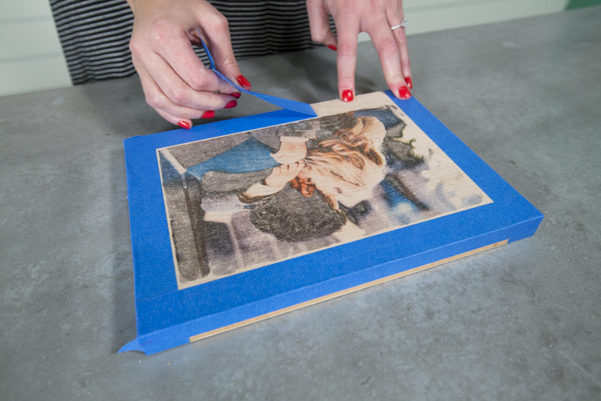 How to Make a DIY Wood Photo Transfer Seattle WA 16