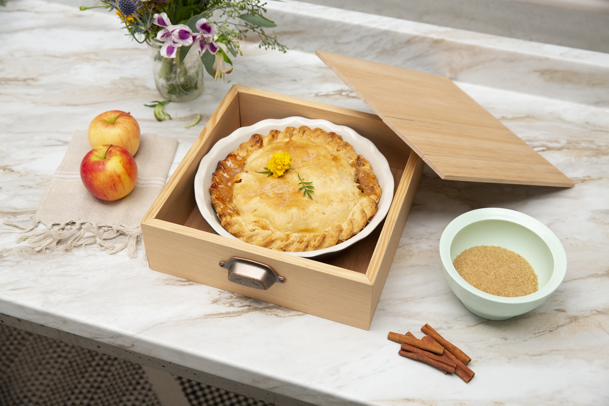 how to make a diy wooden thanksgiving pie box