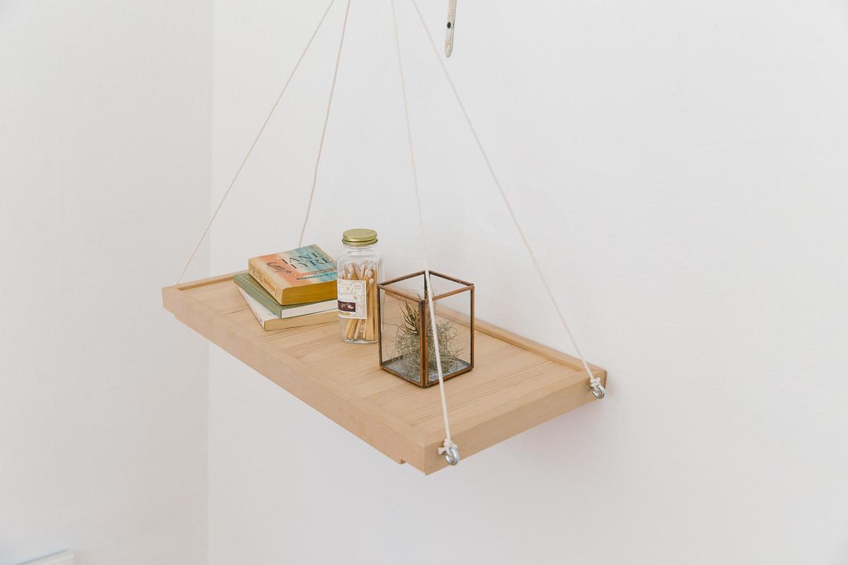 Dunn DIY How to Make a Hanging Shelf Seattle WA 11