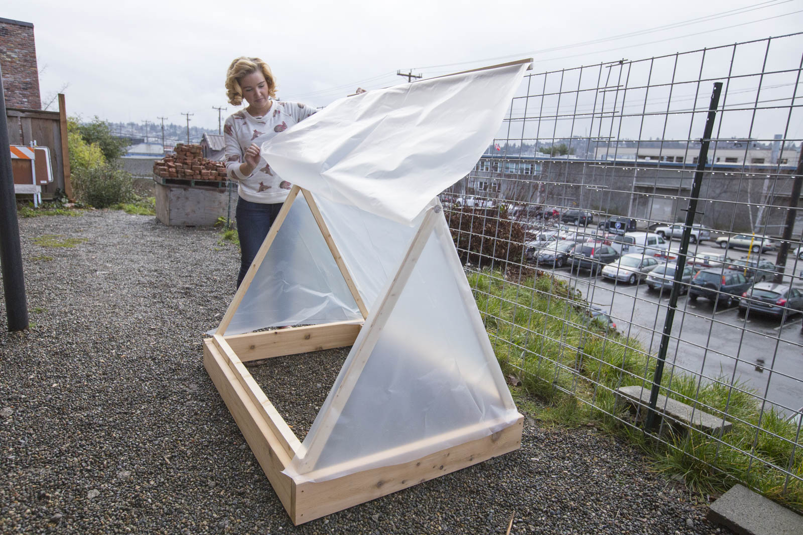 how to make a cold frame tent