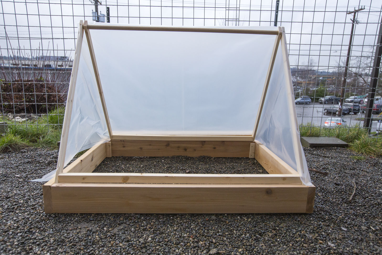 diy cold frame tent