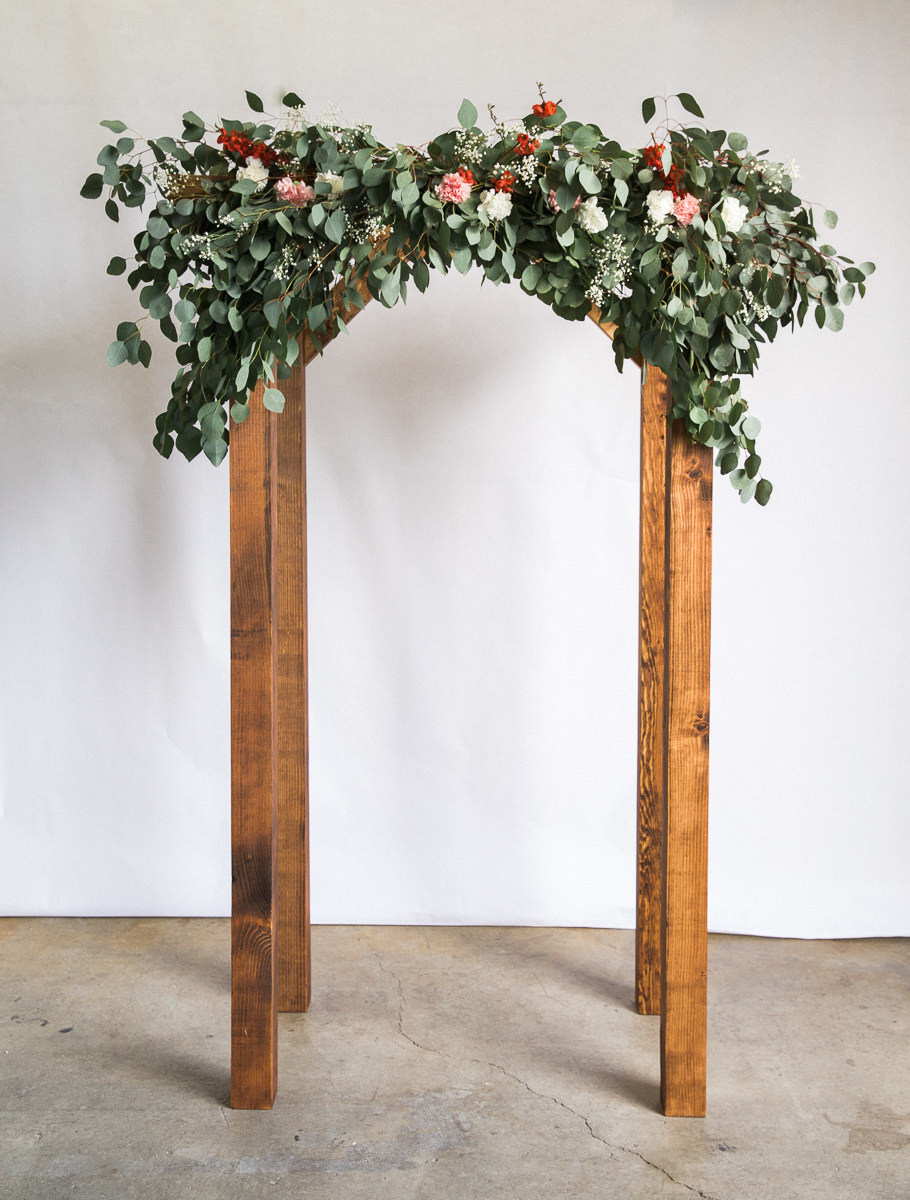 Dunn DIY How to Make a Wedding Arch Seattle WA 18