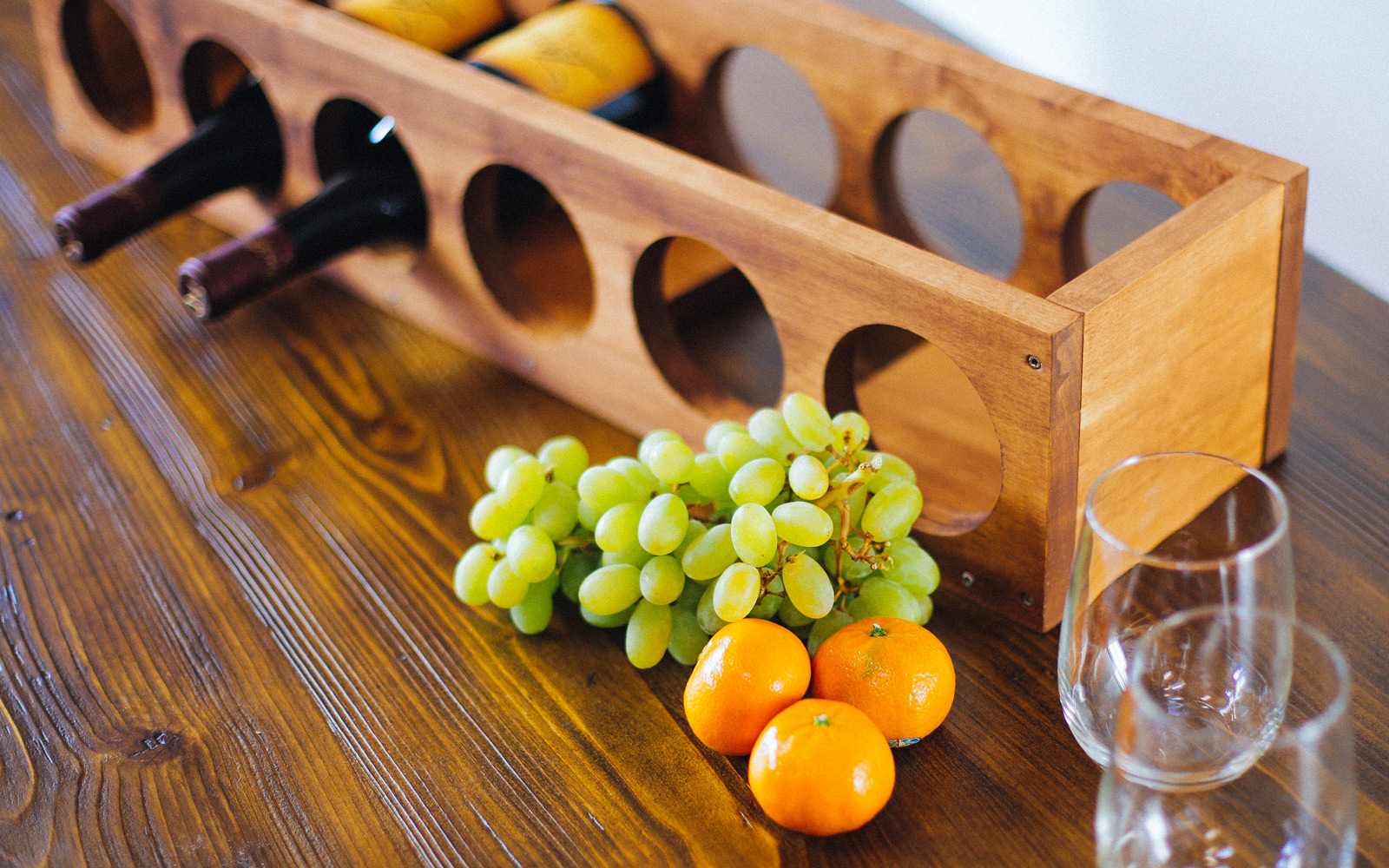 how to make a wine rack