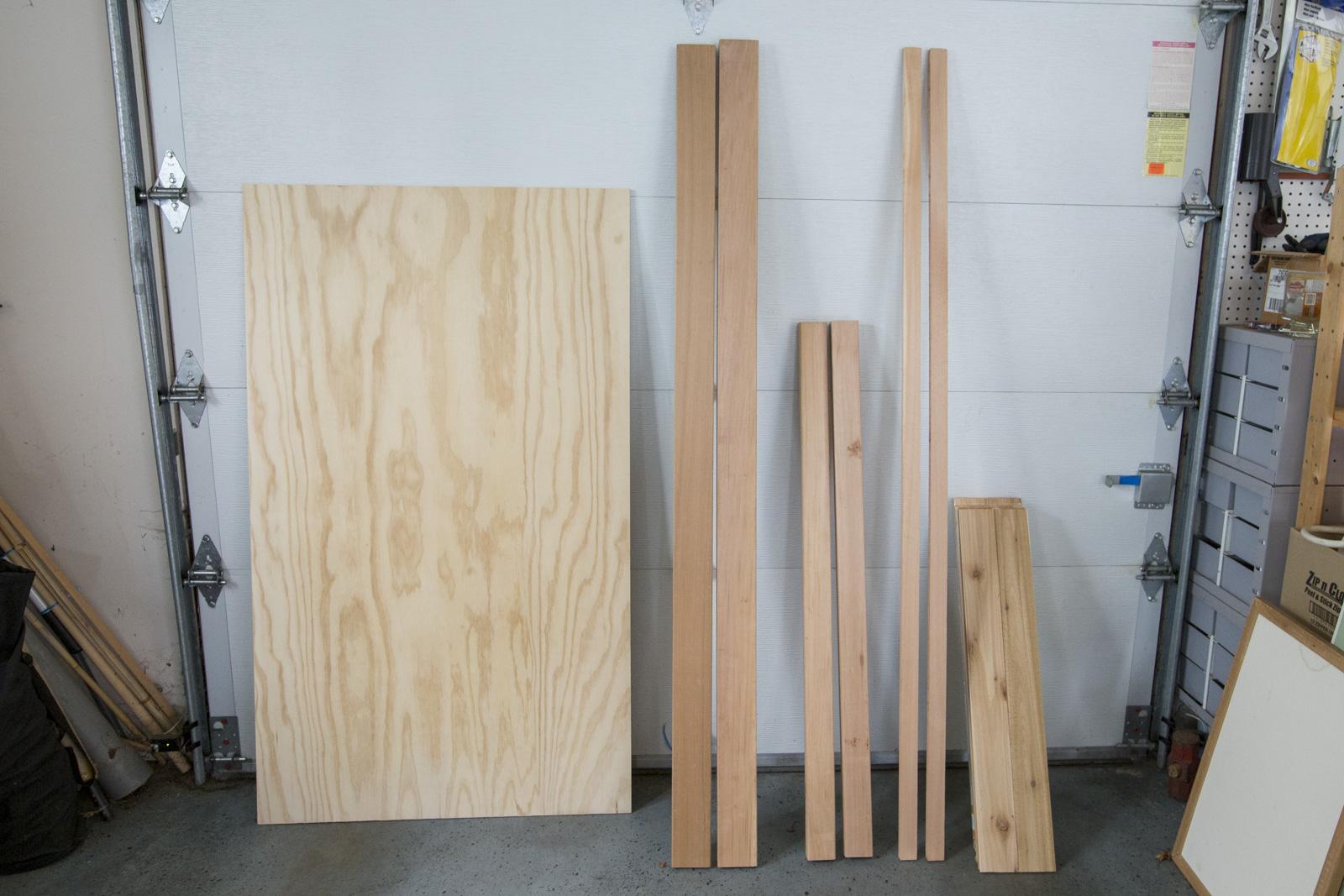 cedar headboard materials