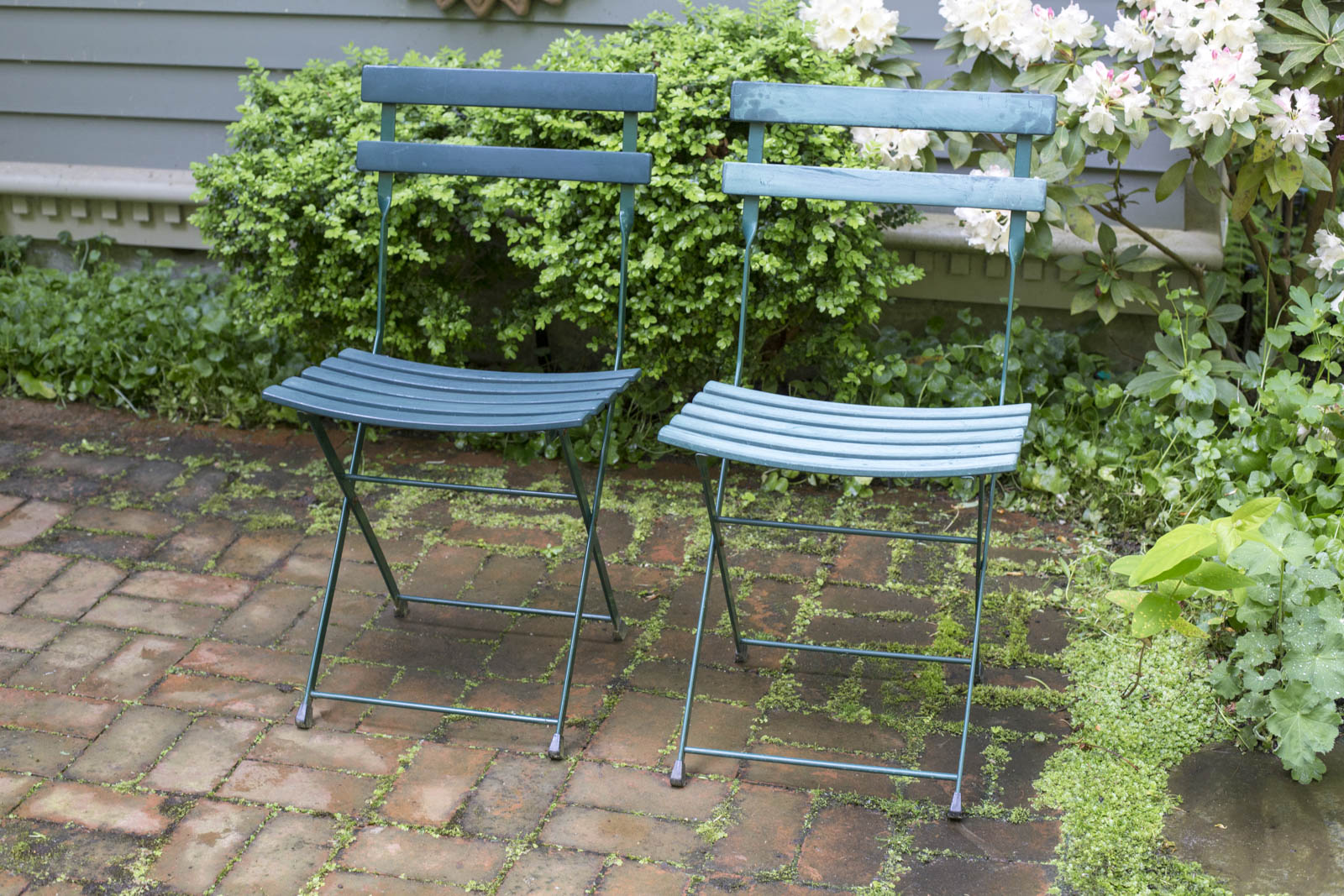 refinished outdoor furniture