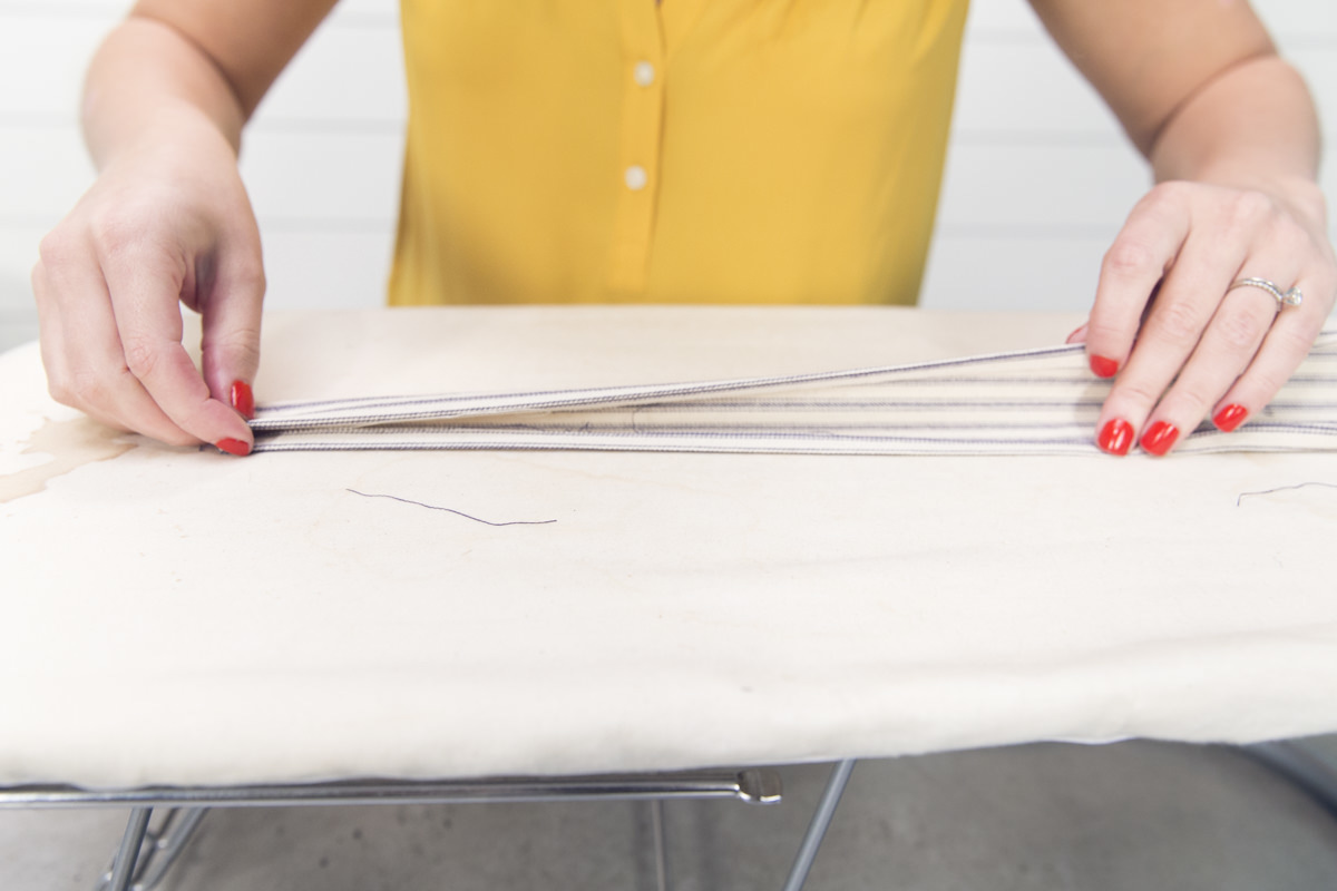 folding diy apron string