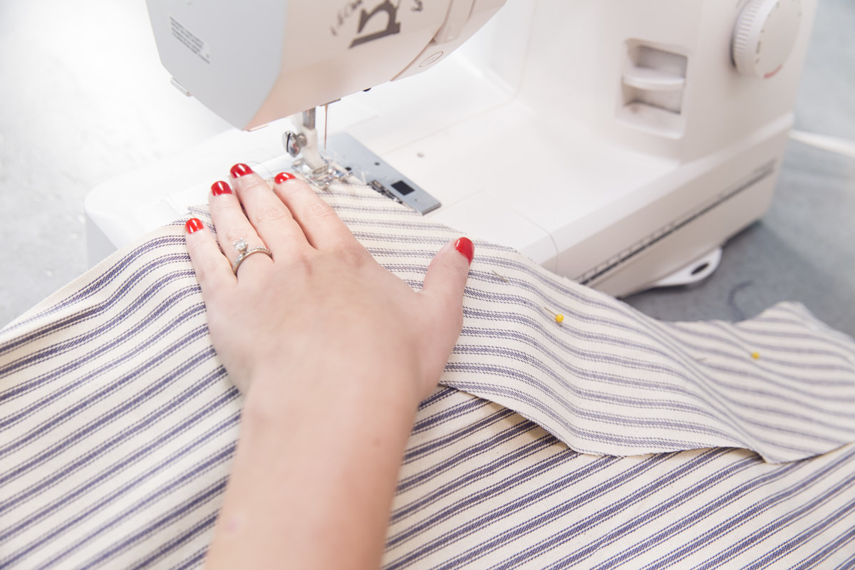 sewing apron casing