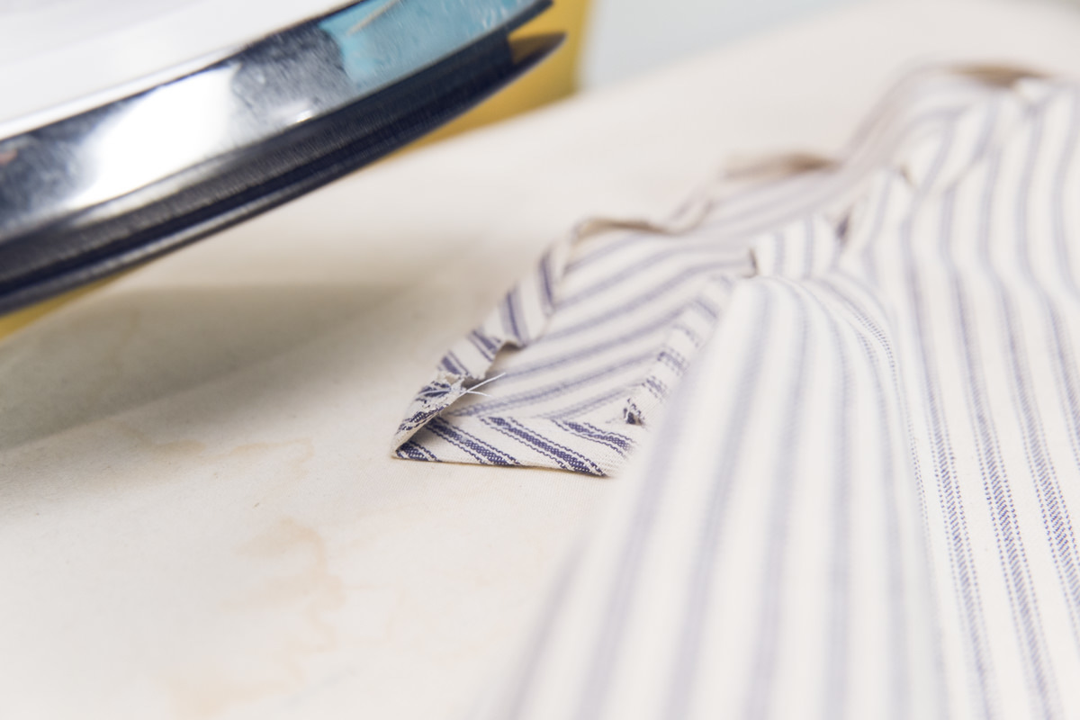 ironing apron edge