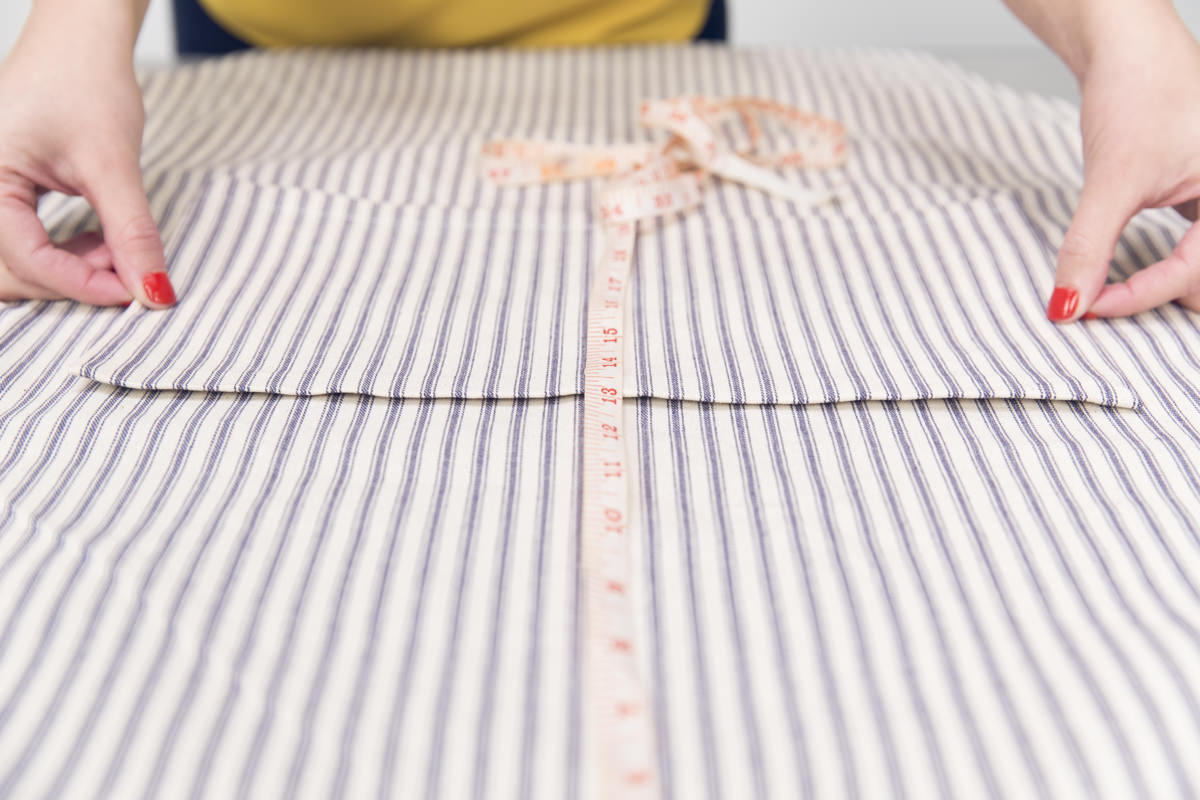 diy apron measurements