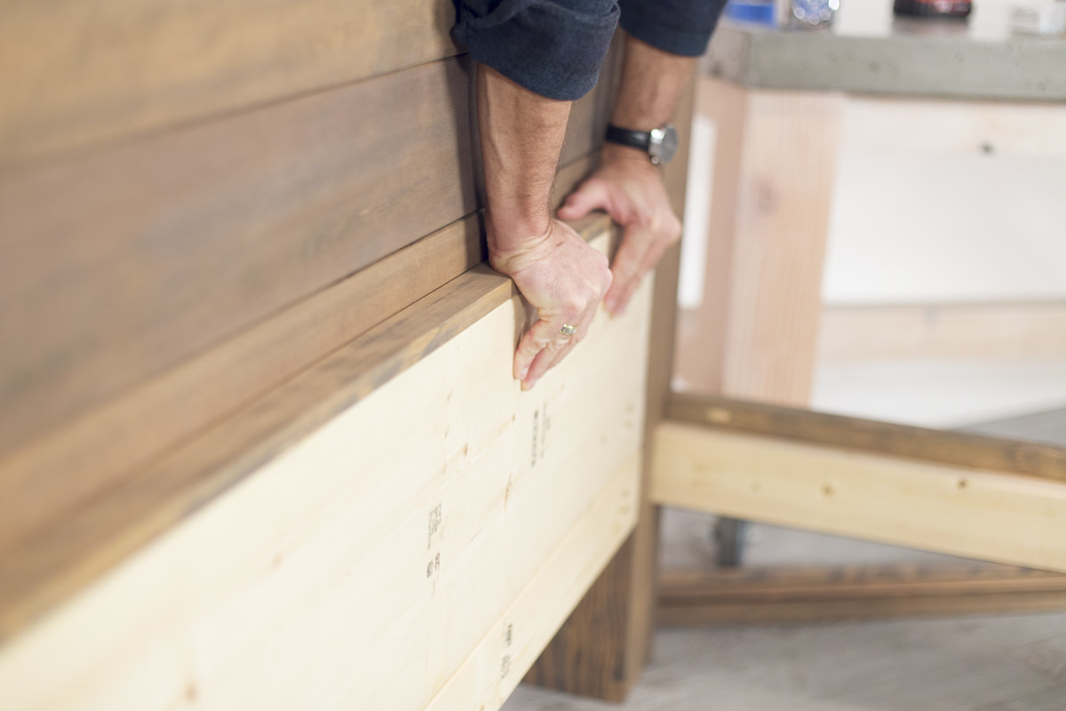 attaching bed frame