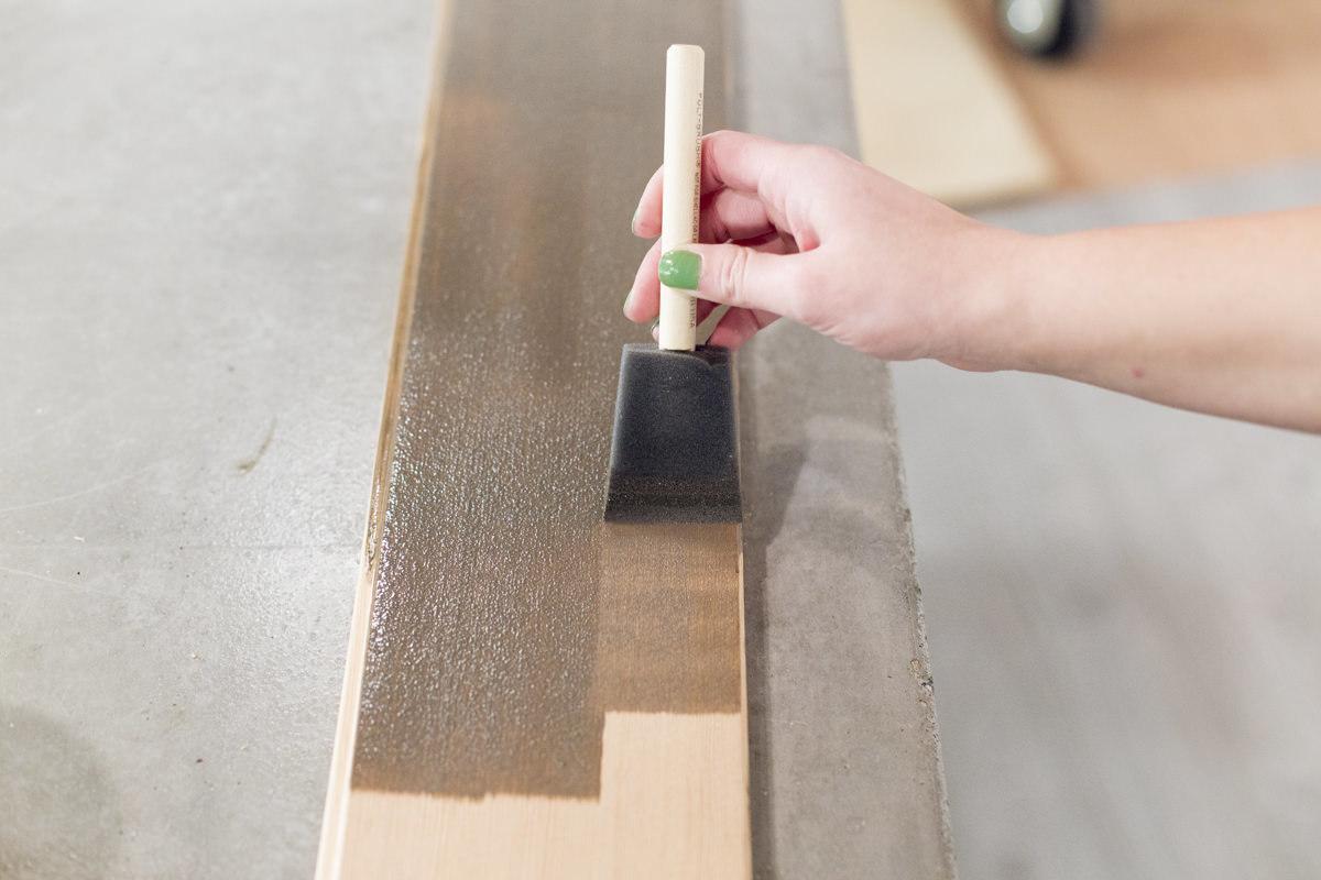 staining douglas fir