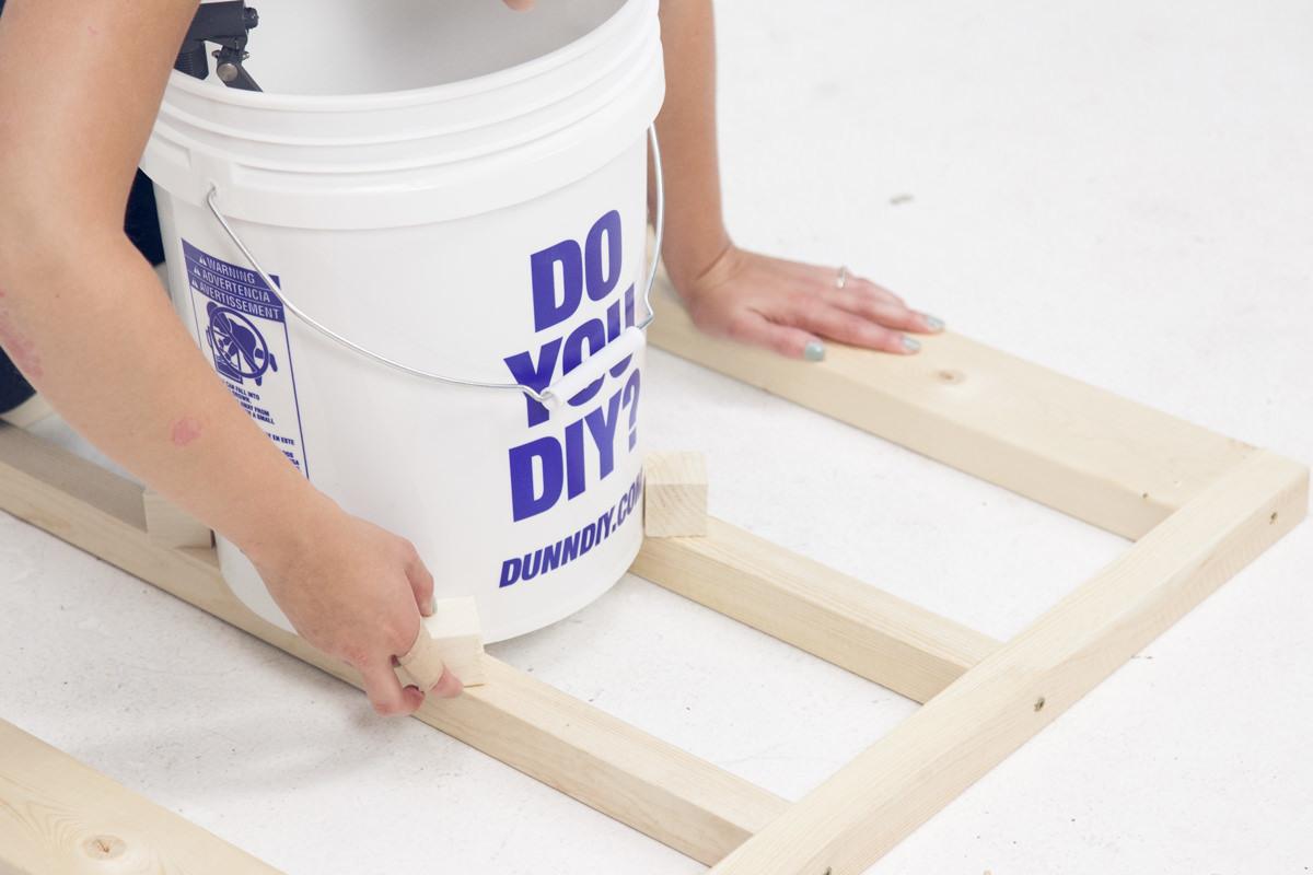 diy dunk tank frame