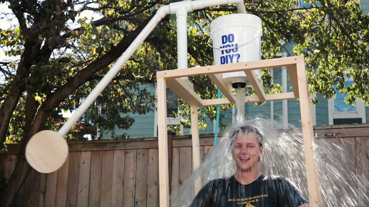 how to build a diy dunk tank