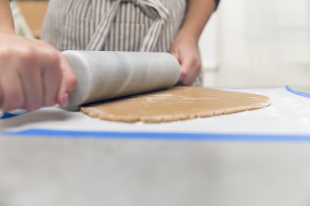 rolling dough for christmas recipe